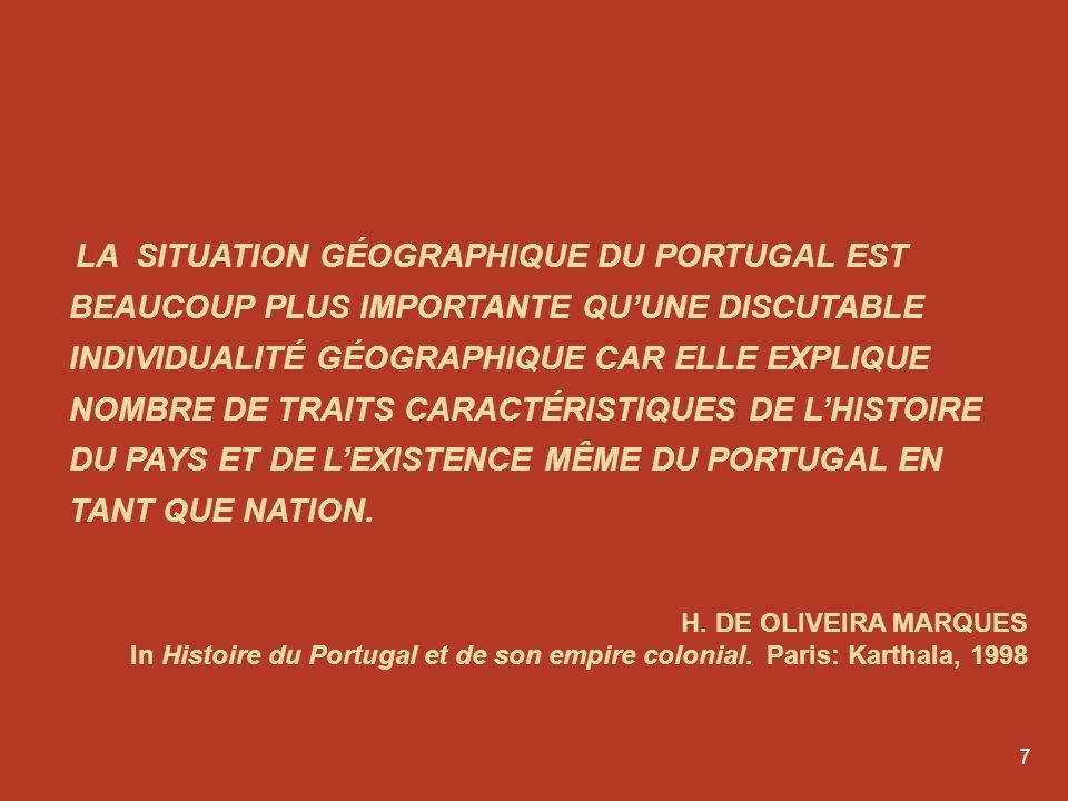 6 Le Portugal et lEspagne se sont longtemps tournés le dos. Cest dû à l'histoire. Comme dit le proverbe, d'Espagne ne viennent ni bon vent, ni bon mar