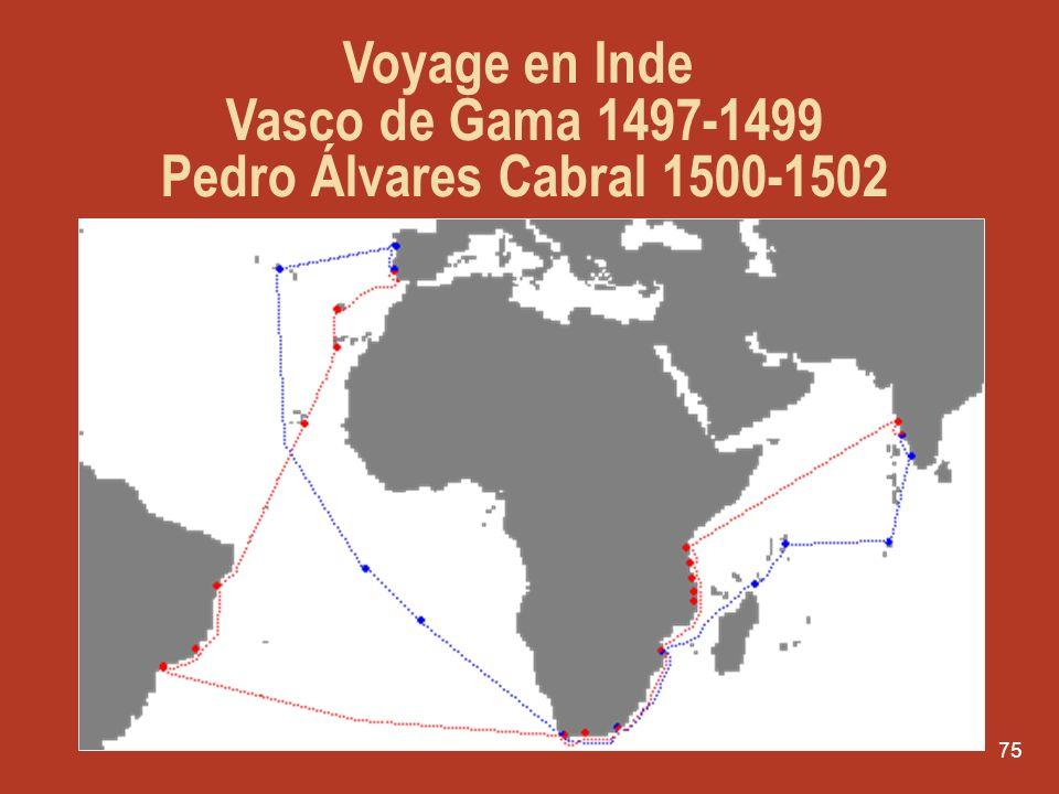 74 La Lettre de Pêro Vaz Caminha Nous aperçûmes la terre : dabord un grand mont très élevé et arrondi au sud duquel se trouvaient dautres montagnes pl