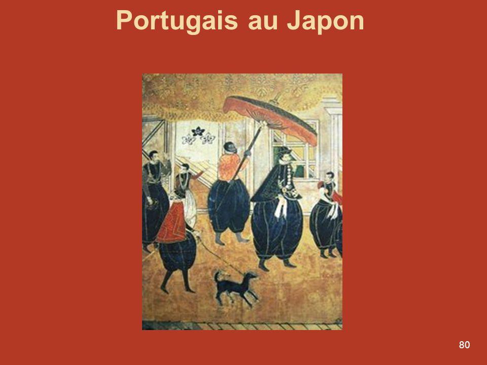79 Les premiers européens au Japon: les Portugais 1543