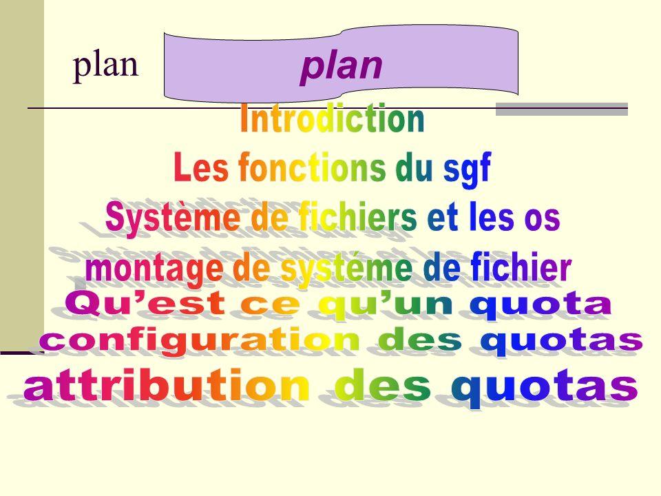 Monter une partition ext3 en ext2 umount /usr/local mount -t ext2 /dev/hda5 /usr/local Monter une partition ext2 en ext3 umount /dev/hda5 mount -t ext3 /dev/hda5 /usr/local formater une partition neuve en ext3 mke2fs -j /dev/hda5 Sur une partition ext2 existante tune2fs -j /dev/hda5 convertir le lecteur E(fat) en NTFS : convert e : /fs:ntfs Montage de systéme de fichier suite