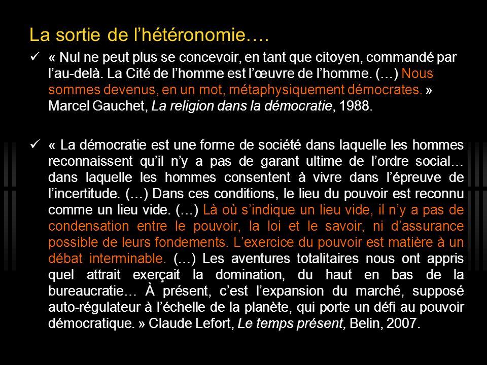 5 I - La modernité et la « crise de léducation » De lenfant désiré à « lenfant du désir ».