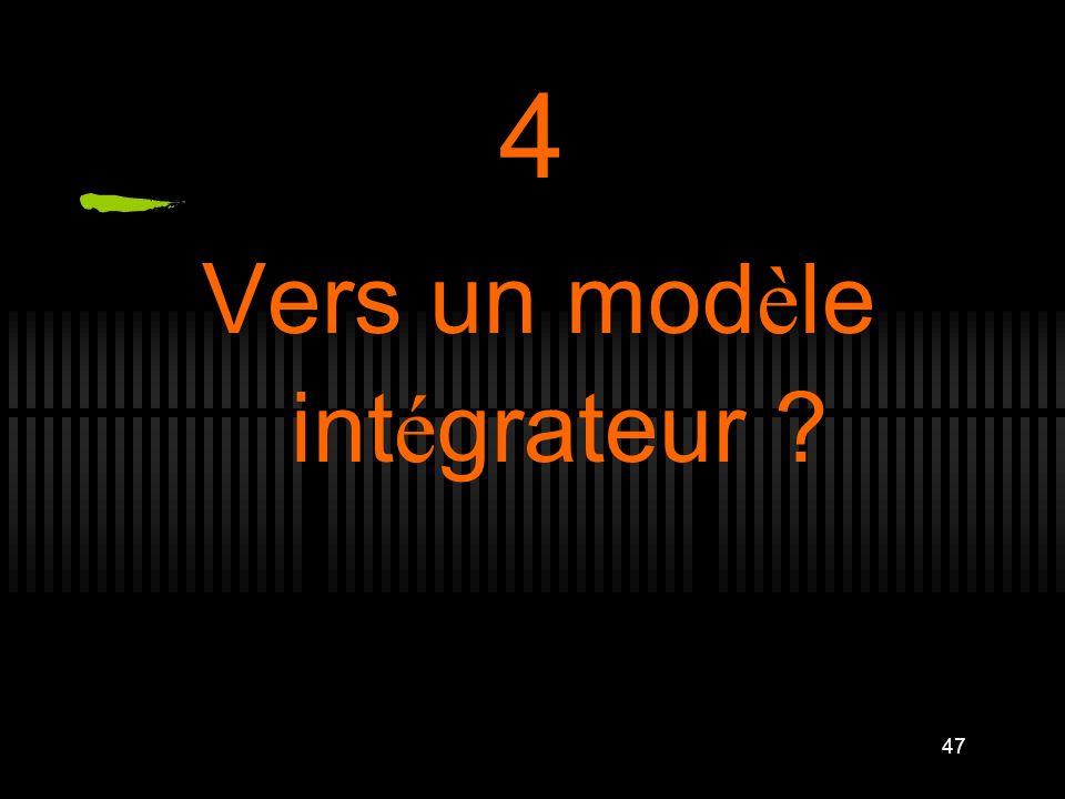 47 4 Vers un mod è le int é grateur ?