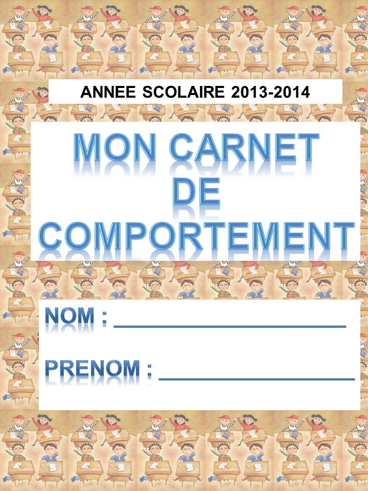ANNEE SCOLAIRE 2013-2014