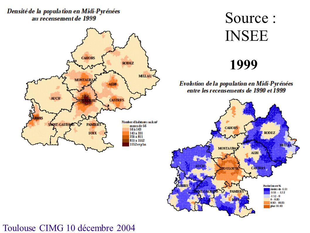 Toulouse CIMG 10 décembre 2004 Maisons de Retraite Dotation relativement importante en Aveyron et dans le Tarn où elle est nettement supérieure à la moyenne nationale.