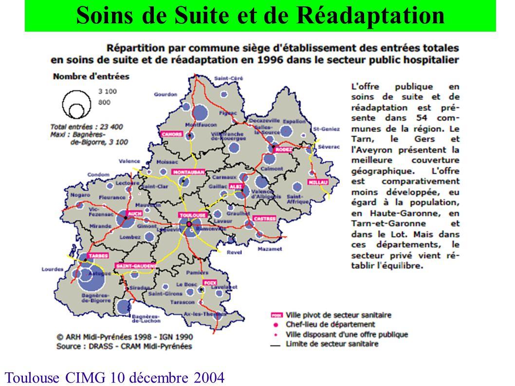 Toulouse CIMG 10 décembre 2004 Soins de Suite et de Réadaptation