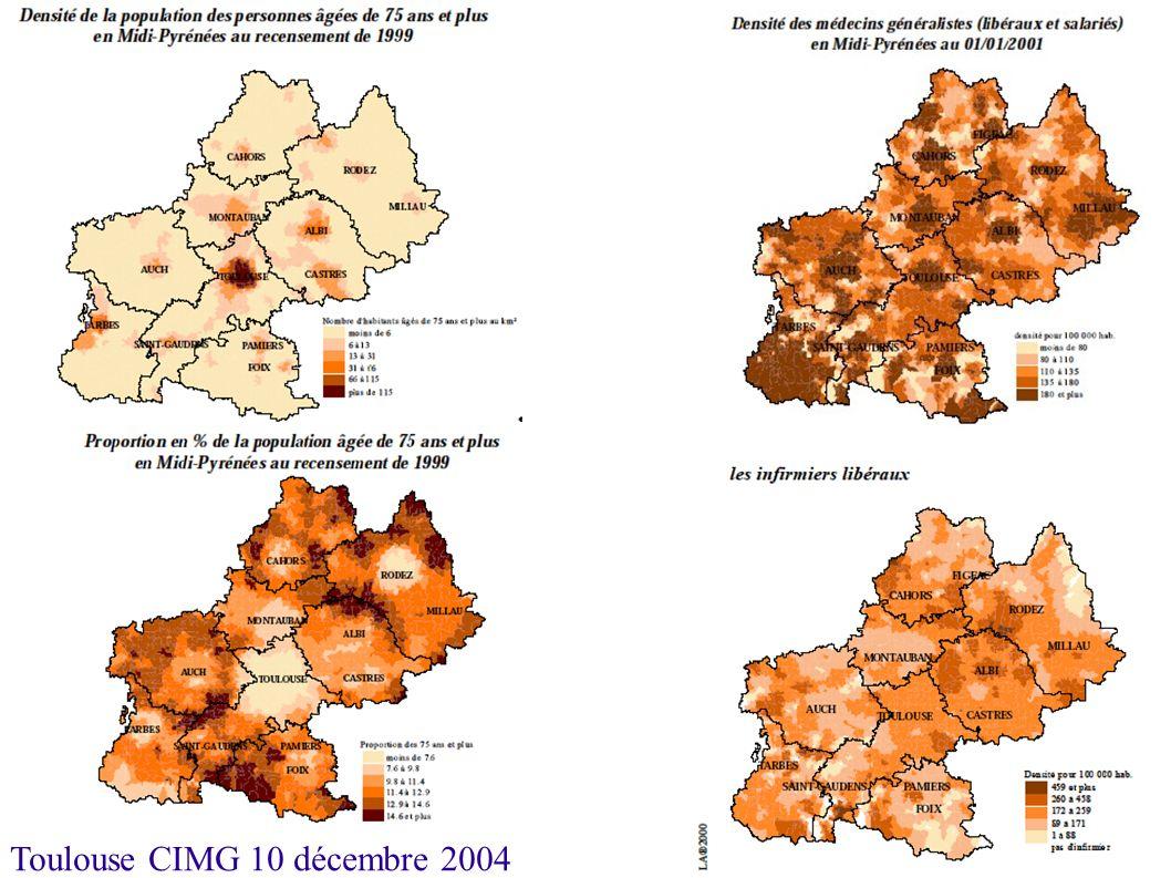 Toulouse CIMG 10 décembre 2004 Etablissements publics Moyenne nationale proche de 90 pour mille Ils représentent en France 60% de l offre d hébergement.