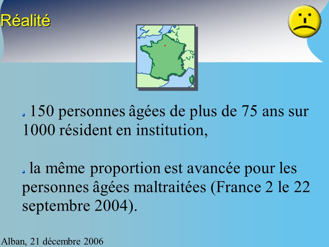 Alban, 21 décembre 2006 Approches multiples