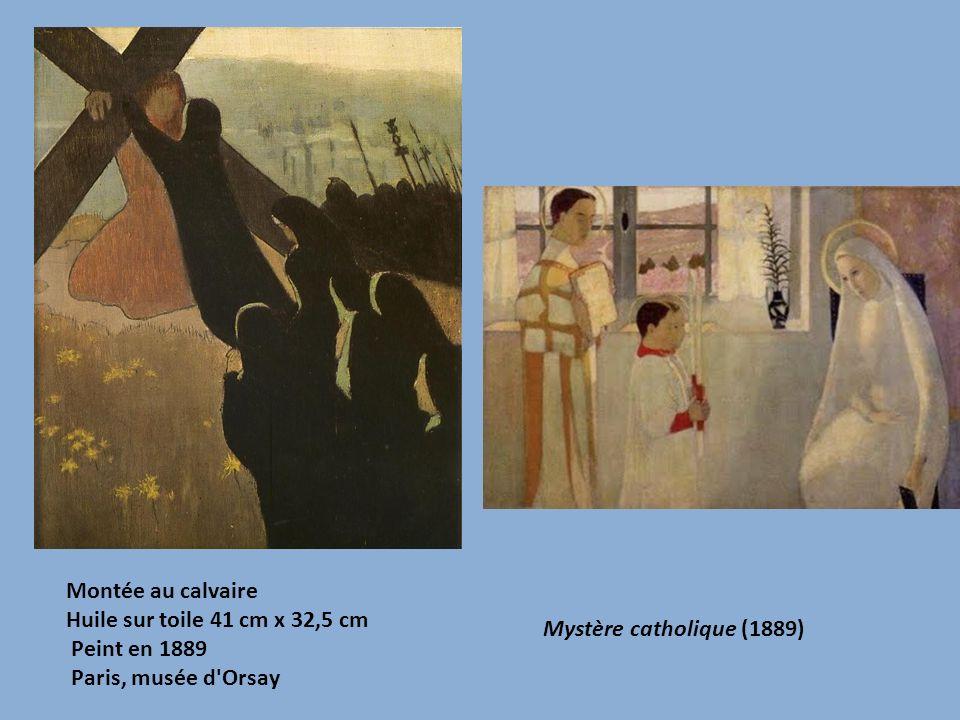 Montée au calvaire Huile sur toile 41 cm x 32,5 cm Peint en 1889 Paris, musée d'Orsay Mystère catholique (1889)
