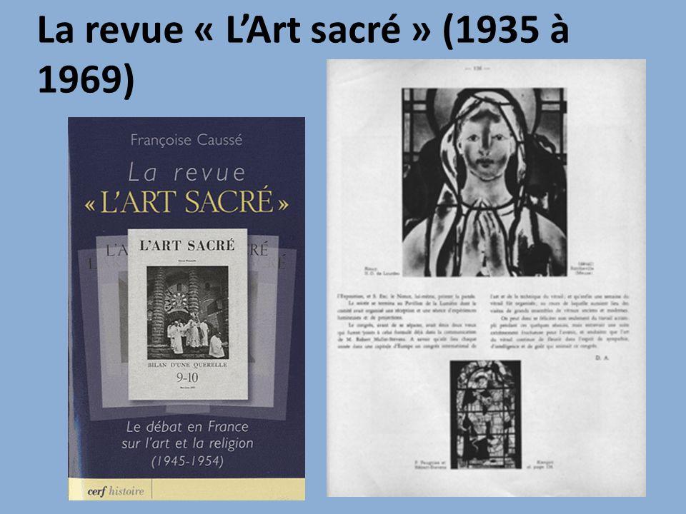 La revue « LArt sacré » (1935 à 1969)