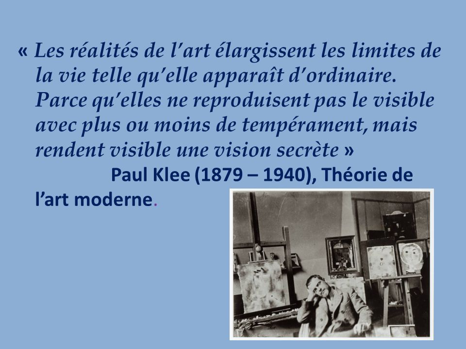 « Ensuite, au fond de léglise, on aperçoit la Sainte-Face de Rouault.