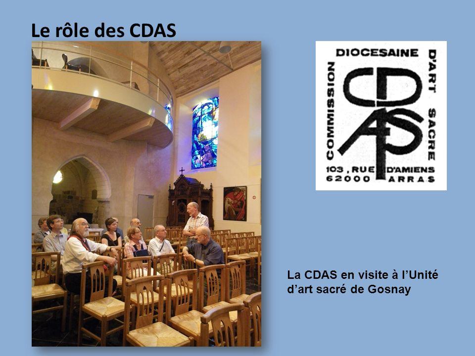 Le rôle des CDAS La CDAS en visite à lUnité dart sacré de Gosnay