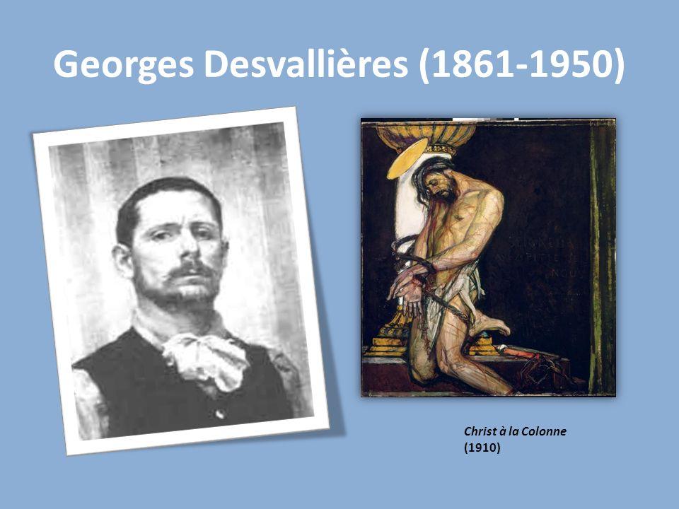 Christ à la Colonne (1910) Georges Desvallières (1861-1950)