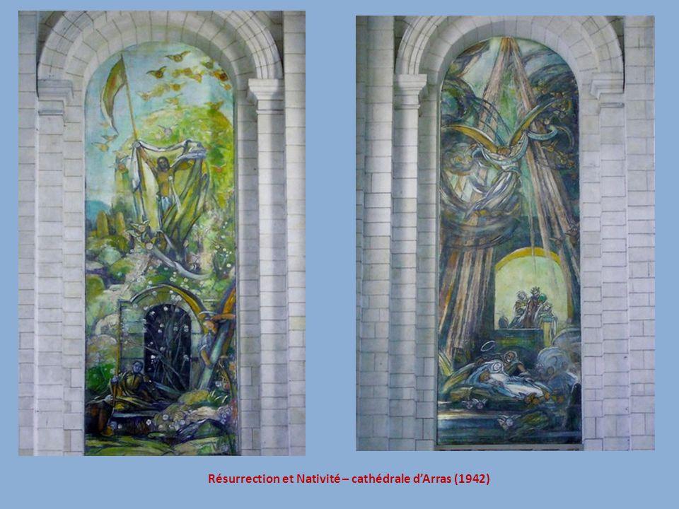 Résurrection et Nativité – cathédrale dArras (1942)
