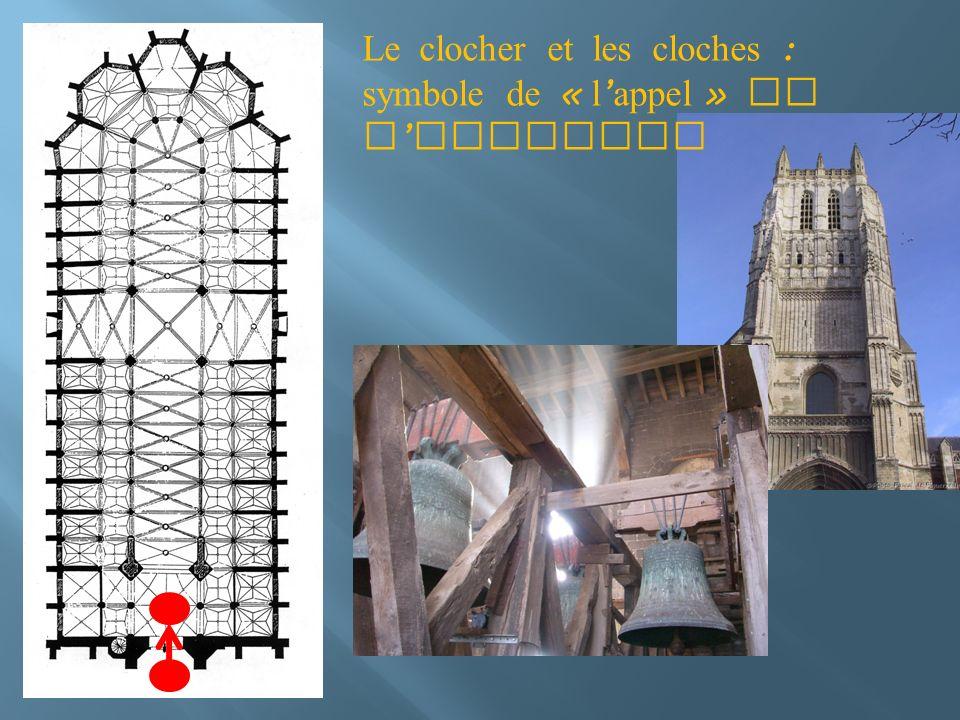 Le clocher et les cloches : symbole de « l appel » de l Evangile