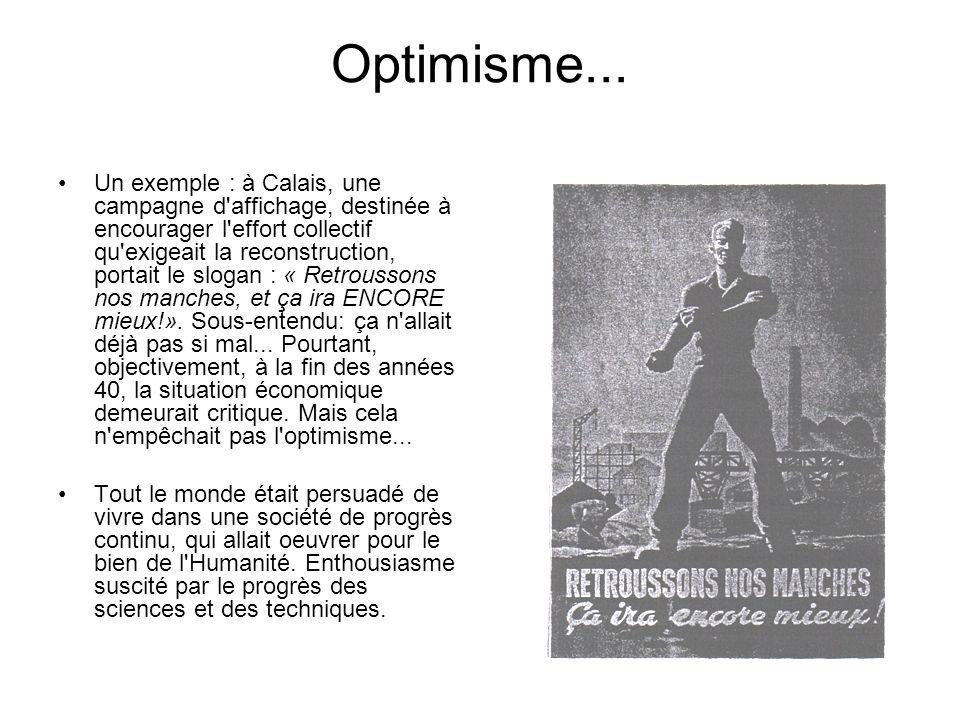 Optimisme...