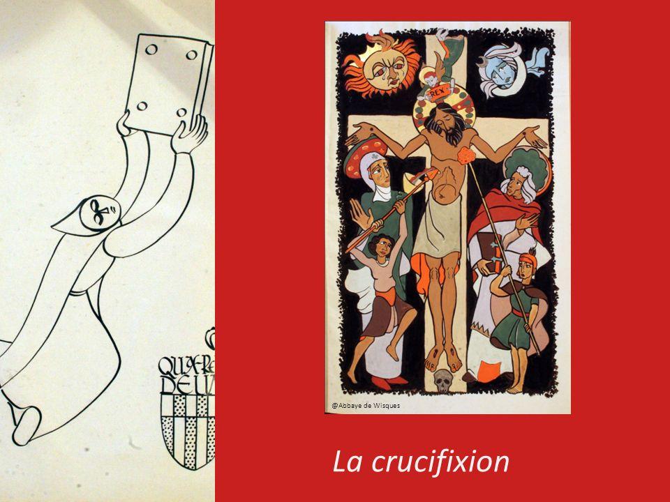La crucifixion @Abbaye de Wisques