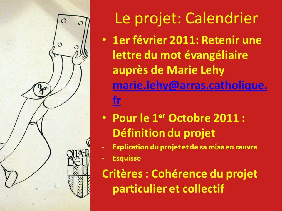 1er février 2011: Retenir une lettre du mot évangéliaire auprès de Marie Lehy marie.lehy@arras.catholique. fr marie.lehy@arras.catholique. fr Pour le