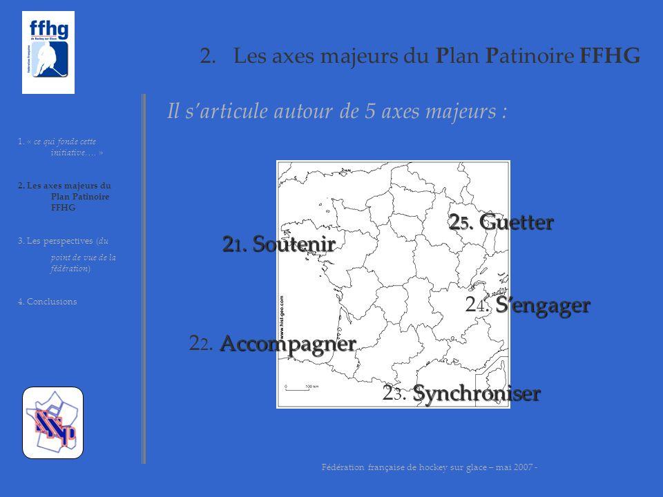 2.Les axes majeurs du Plan Patinoire FFHG 1. « ce qui fondent cette initiative….