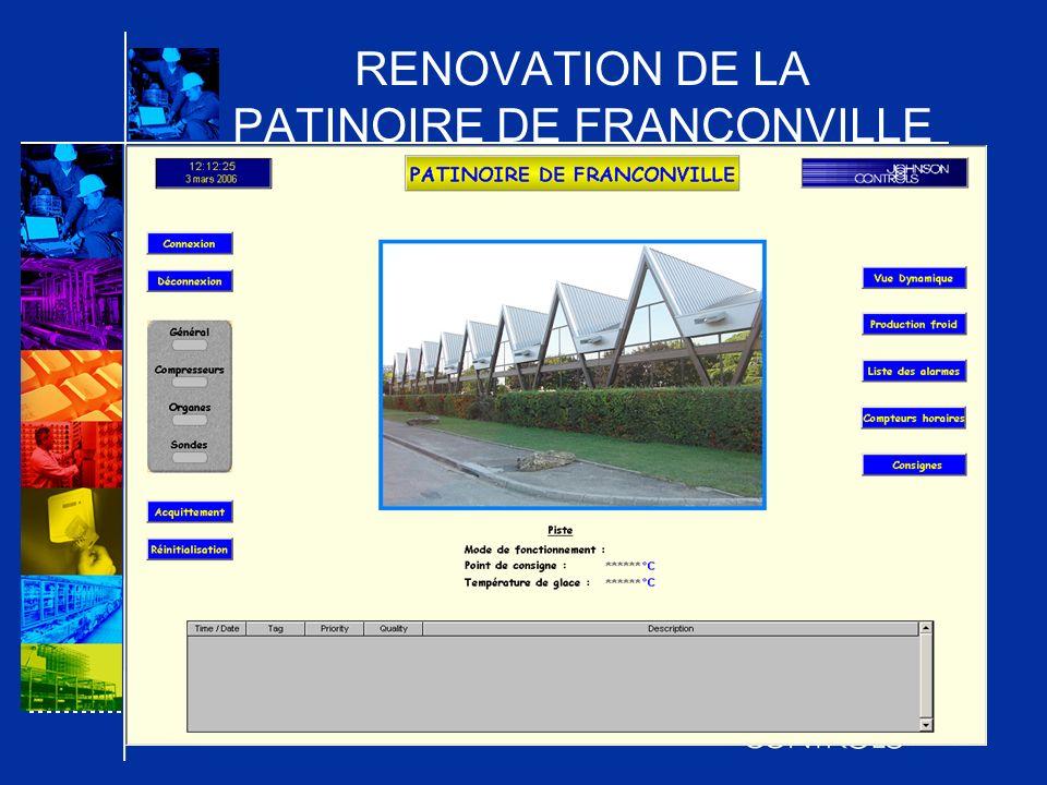 RENOVATION DE LA PATINOIRE DE FRANCONVILLE