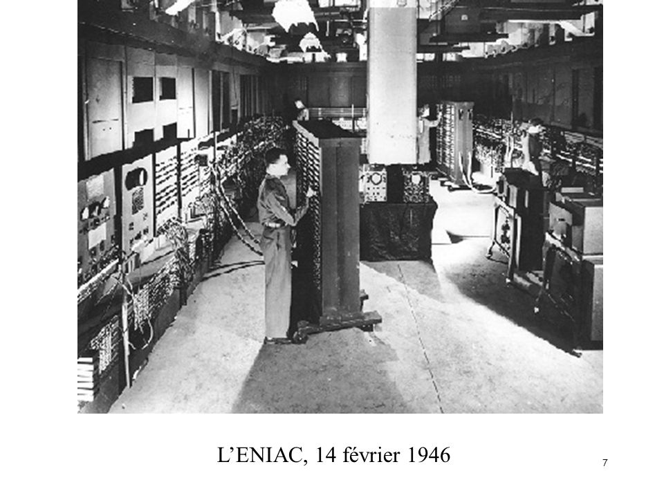 7 LENIAC, 14 février 1946