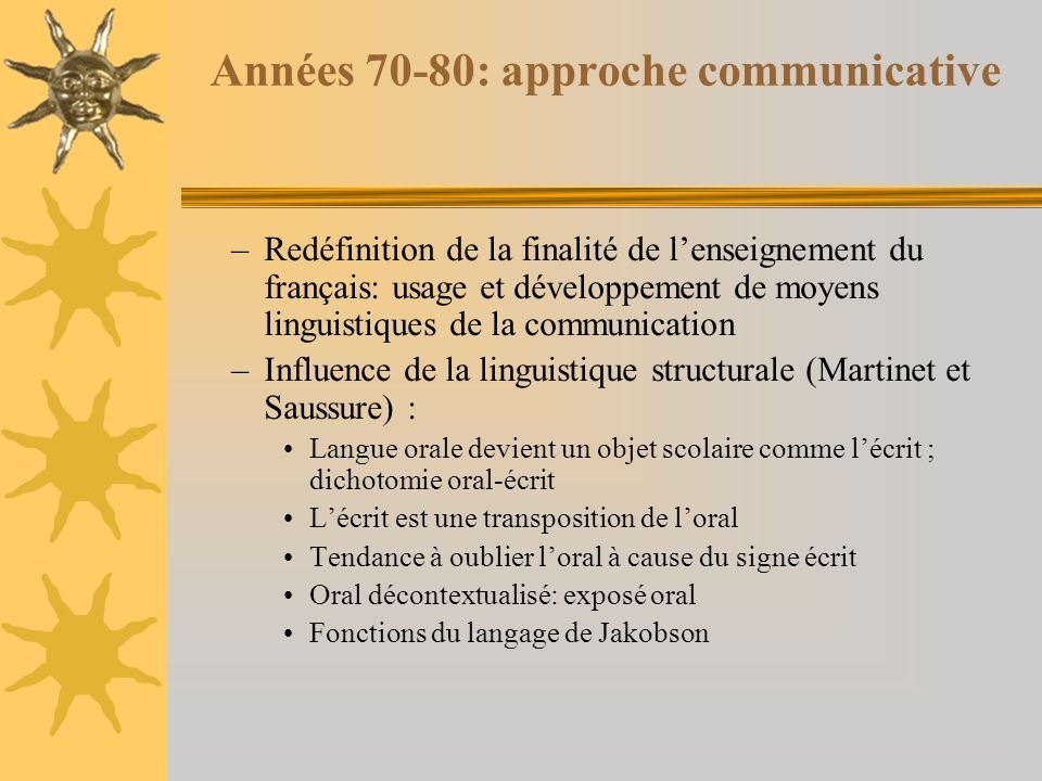 Types de relations entre loral et lécrit en classe de français langue denseignement 1-Loral considéré comme médium denseignement a) loral est un tremplin pour lapprentissage de lécrit (ex.