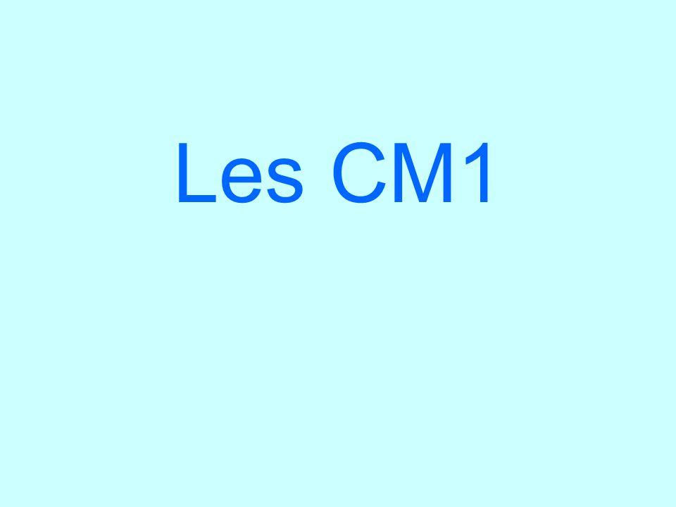 Les CM1