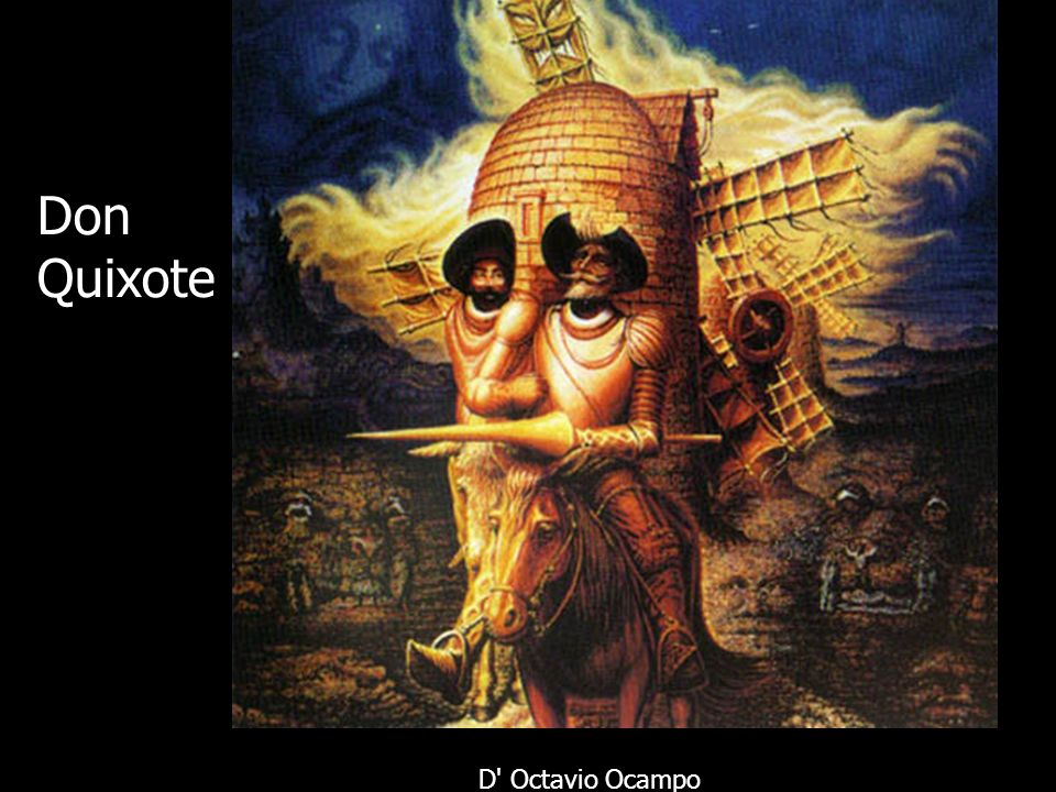 Don Quixote D' Octavio Ocampo