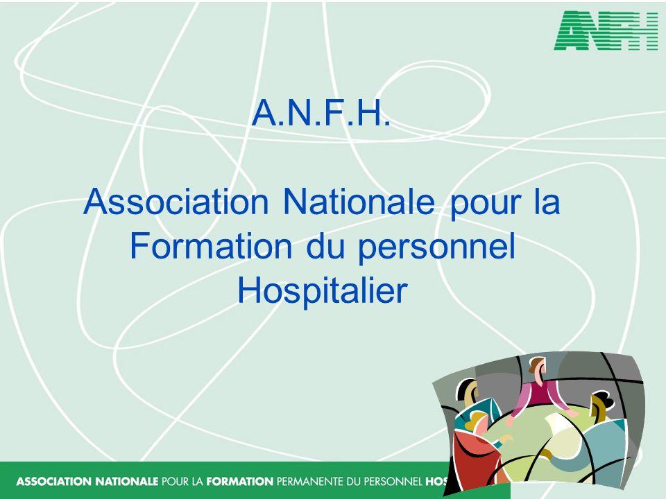 A.N.F.H. Association Nationale pour la Formation du personnel Hospitalier
