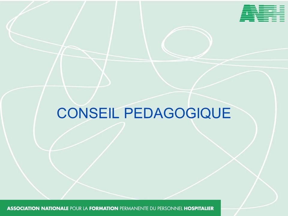CONSEIL PEDAGOGIQUE