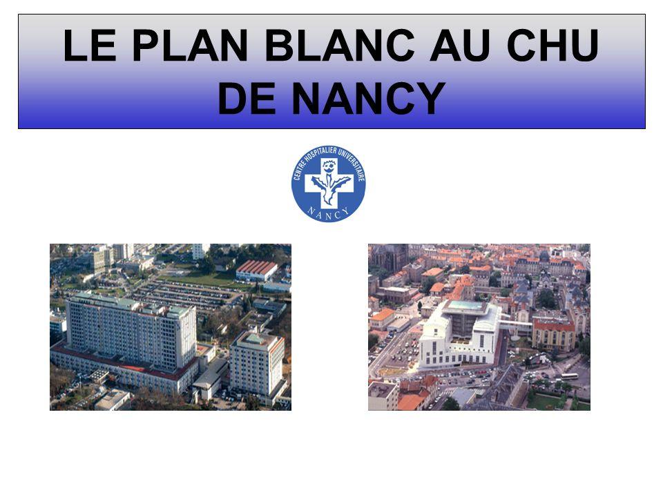 LE PLAN BLANC AU CHU DE NANCY