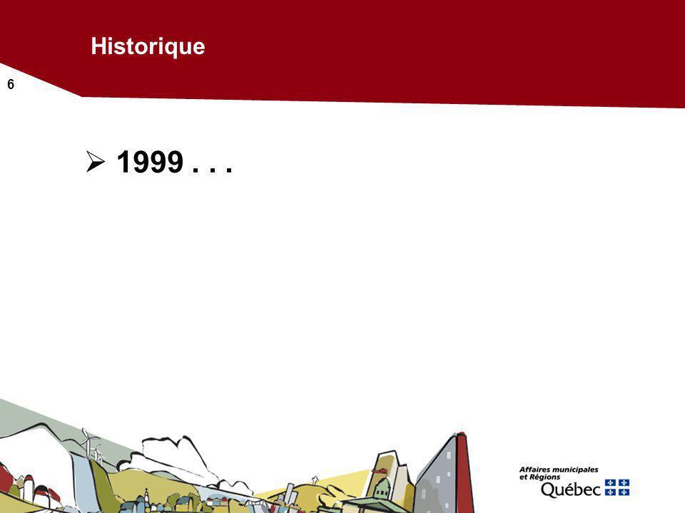 6 Historique 1999...
