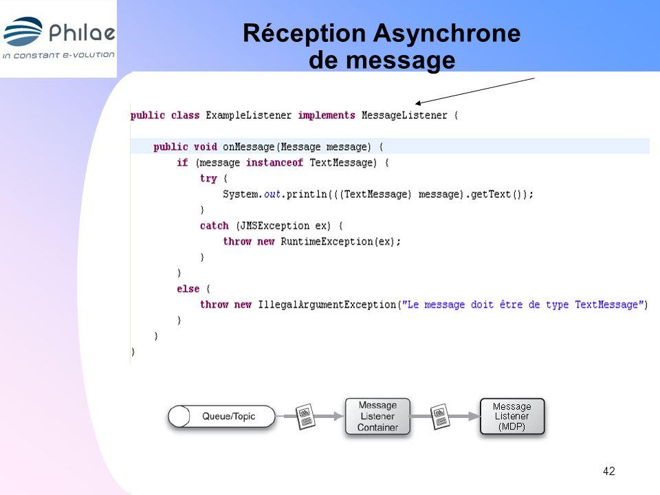 Réception Asynchrone de message 42