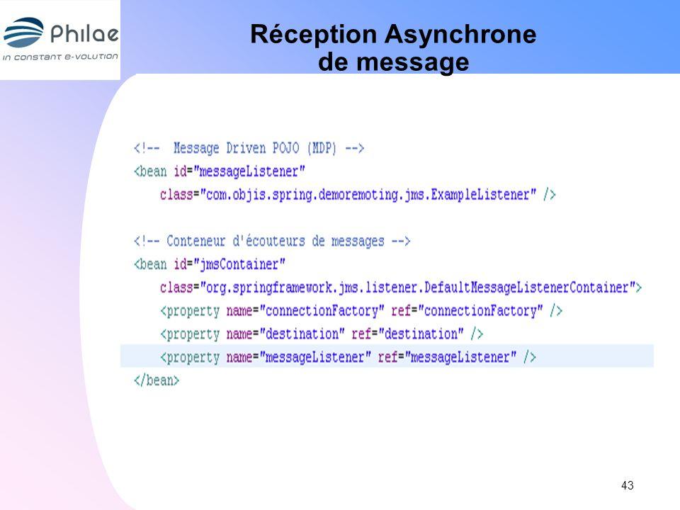 Réception Asynchrone de message 43