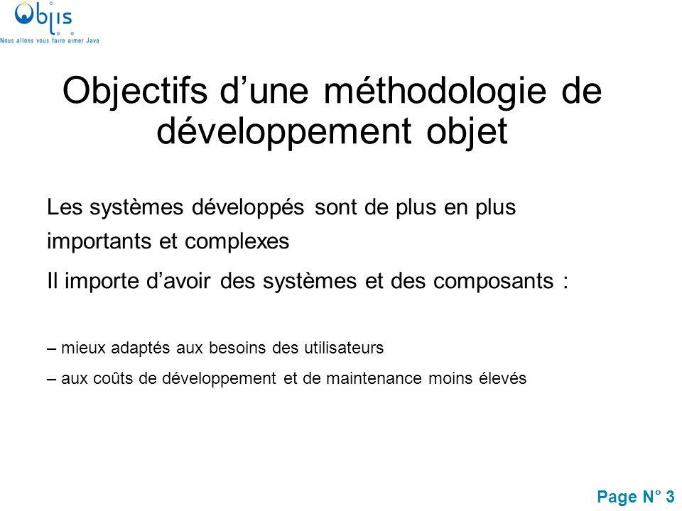 Page N° 14 Processus récursif Le processus de développement est appliqué récursivement à différents niveaux : –système, –sous-systèmes, –composants,…