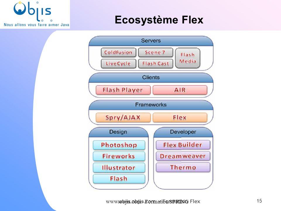 www.objis.com - Formation SPRING Ecosystème Flex 15 www.objis.com - Formation Flex