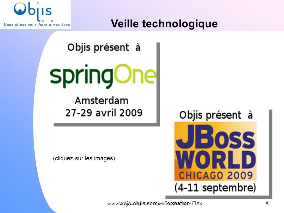 www.objis.com - Formation SPRING Veille technologique 4 (cliquez sur les images) www.objis.com - Formation Flex