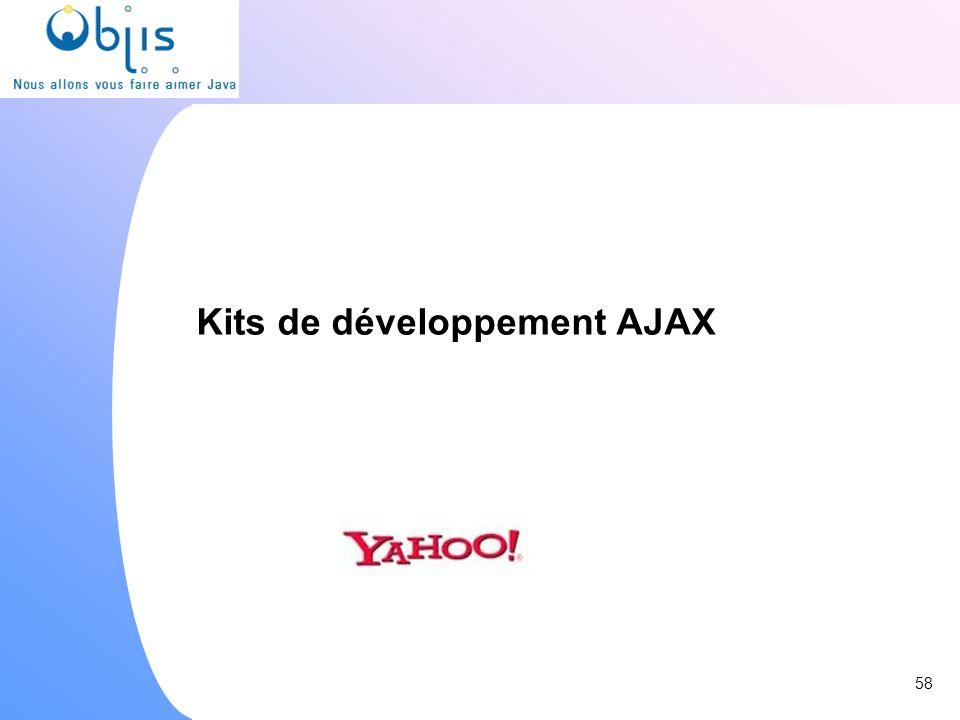 Kits de développement AJAX 58