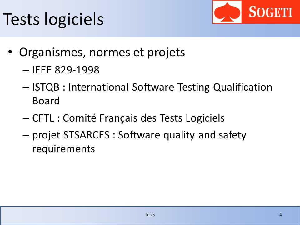JUnit 4- fixture Tests35 public class TestFixture { @BeforeClass public static void montageClasse() { System.out.println( >> Montage avant tous les tests ); } @AfterClass public static void demontageClasse() { System.out.println( >> Démontage après tous les tests ); } @Before public void montage() { System.out.println( ------ AVANT ); } @After public void demontage() { System.out.println( ------ APRES ); } @Test public void test1() { System.out.println( Test 1 ); } @Test public void test2() { System.out.println( Test 2 ); }