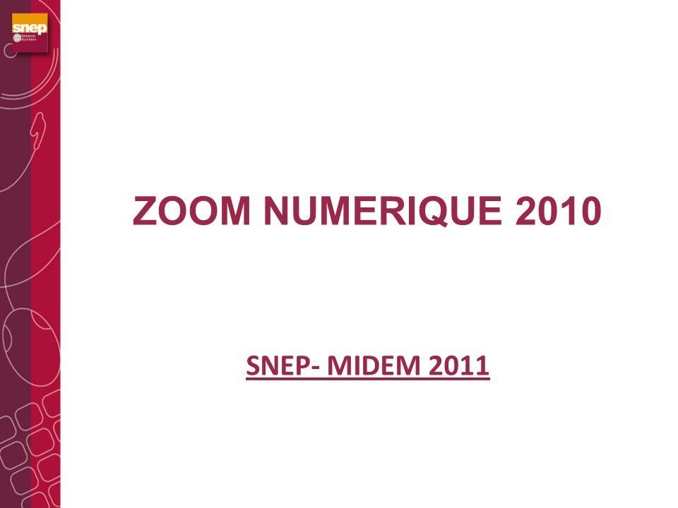ZOOM NUMERIQUE 2010 SNEP- MIDEM 2011