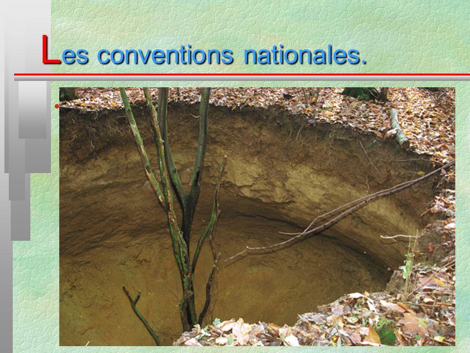 L es conventions nationales. La convention DICA mines :