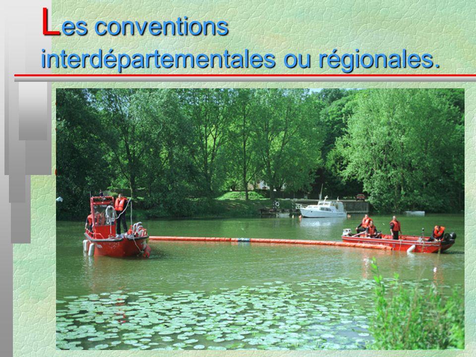 L es conventions interdépartementales ou régionales. La convention relative à la mise à disposition du SDIS du Val dOise par Voies Navigables de Franc