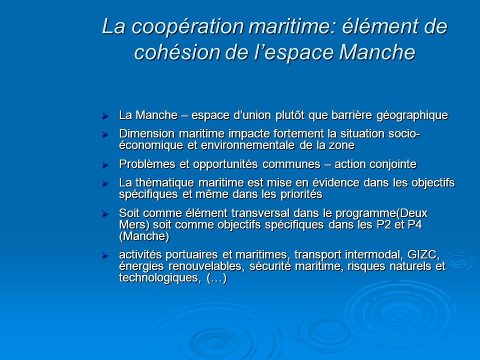 La Manche – espace dunion plutôt que barrière géographique La Manche – espace dunion plutôt que barrière géographique Dimension maritime impacte forte