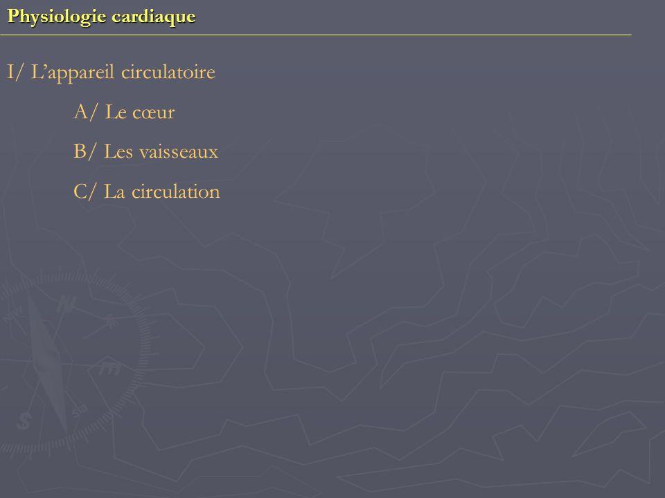 Physiologie vasculaire I/ Hémodynamique circulatoire 1) Débit sanguin 2) Résistance périphérique II/ La pression sanguine