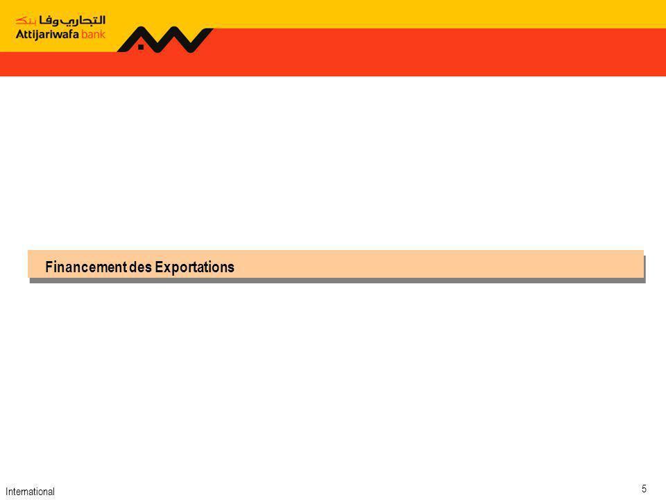 International 5 Financement des Exportations