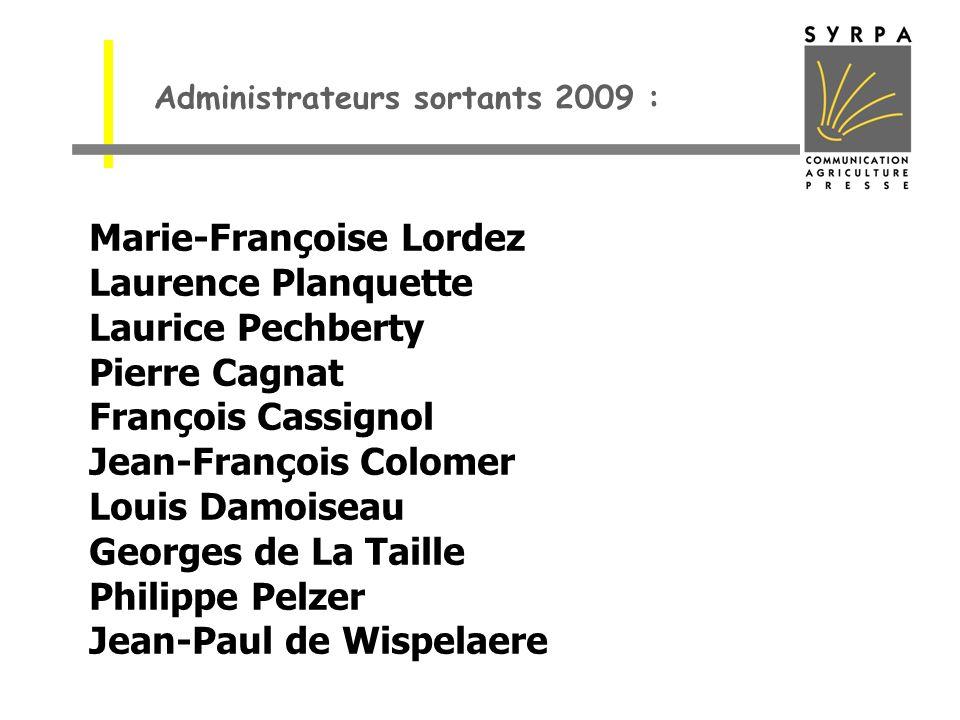 Marie-Françoise Lordez Laurence Planquette Laurice Pechberty Pierre Cagnat François Cassignol Jean-François Colomer Louis Damoiseau Georges de La Tail