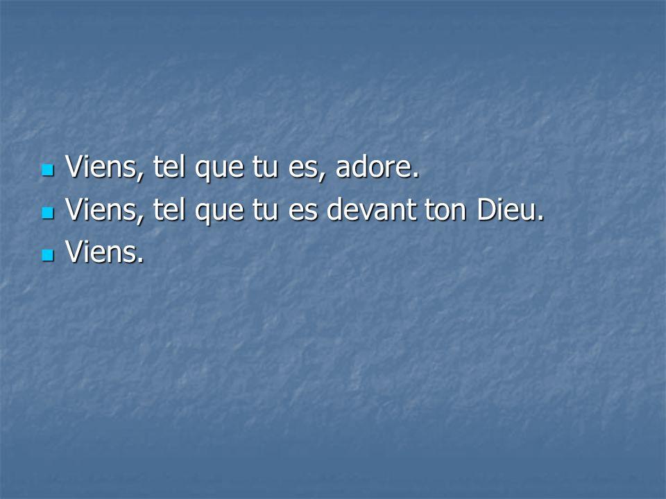 Un jour, toute langue dira : Un jour, toute langue dira : « Tu es Dieu .