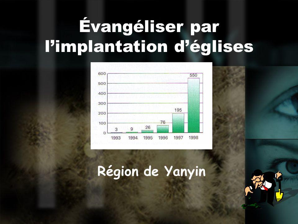 Une nouvelle église 60%-80% des nouveaux membres sont des nouveaux convertis