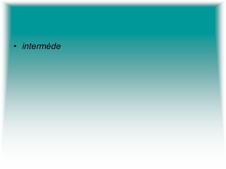 intermède