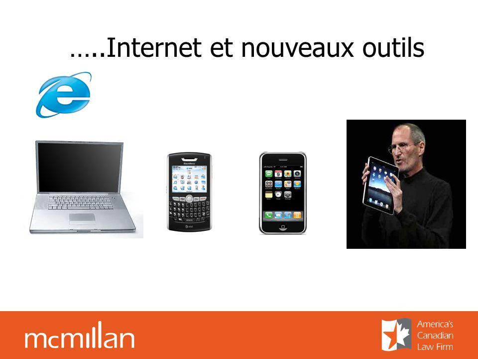 …..Internet et nouveaux outils
