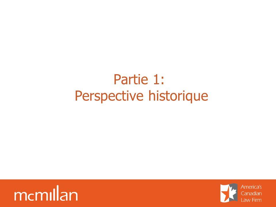 Partie 1: Perspective historique